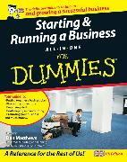 Cover-Bild zu Starting and Running a Business All-in-One For Dummies (eBook) von Barrow, Colin