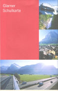 Cover-Bild zu Glarner Schulkarte. 1:75'000