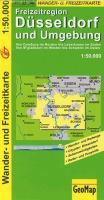 Cover-Bild zu Freizeitregion Düsseldorf und Umgebung. 1:50'000