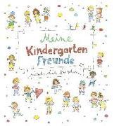 Cover-Bild zu Meine Kindergarten-Freunde sind die besten! - Kritzel-Freundebuch ab 3 Jahre von gondolino Eintragbücher (Hrsg.)