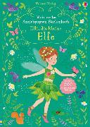Cover-Bild zu Mein erstes Anziehpuppen-Stickerbuch: Elli, die kleine Elfe von Watt, Fiona