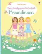 Cover-Bild zu Mein Anziehpuppen-Stickerbuch: Freundinnen von Watt, Fiona