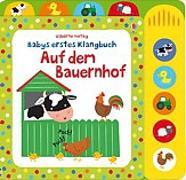 Cover-Bild zu Babys erstes Klangbuch: Auf dem Bauernhof von Watt, Fiona