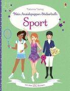 Cover-Bild zu Mein Anziehpuppen-Stickerbuch: Sport von Arrowsmith, Vicky