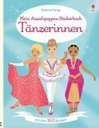 Cover-Bild zu Mein Anziehpuppen-Stickerbuch: Tänzerinnen von Watt, Fiona