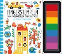 Cover-Bild zu Fingerstempeln: Vom Fingerabdruck zum Kunstwerk von Watt, Fiona