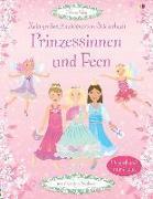 Cover-Bild zu Mein großes Anziehpuppen-Stickerbuch: Prinzessinnen und Feen von Watt, Fiona