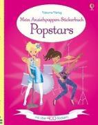 Cover-Bild zu Mein Anziehpuppen-Stickerbuch: Popstars von Watt, Fiona