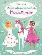 Cover-Bild zu Mein Anziehpuppen-Stickerbuch: Einhörner von Watt, Fiona