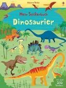 Cover-Bild zu Mein Stickerbuch: Dinosaurier von Watt, Fiona