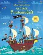 Cover-Bild zu Mein Stickerbuch: Auf dem Piratenschiff von Watt, Fiona