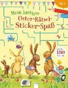 Cover-Bild zu Mein lustiger Oster-Rätsel-Sticker-Spaß von Hughes, Laura