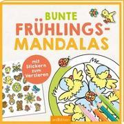 Cover-Bild zu Bunte Frühlings-Mandalas von Glatzel-Poch, Helge (Illustr.)