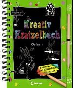 Cover-Bild zu Kreativ-Kratzelbuch: Ostern von Loewe Kratzel-Welt (Hrsg.)