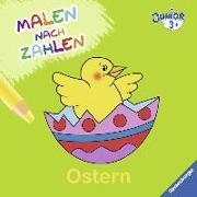 Cover-Bild zu Malen nach Zahlen junior: Ostern von Penner, Angelika