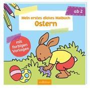 Cover-Bild zu Mein erstes dickes Malbuch Ostern von Beurenmeister, Corina (Illustr.)
