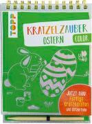 Cover-Bild zu Kratzelzauber Color Ostern von frechverlag