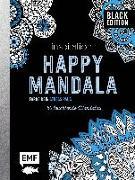 Cover-Bild zu Black Edition: Inspiration Happy Mandala