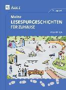Cover-Bild zu Meine Lesespurgeschichten für Zuhause - Klasse 5-6 von Rook, Sven
