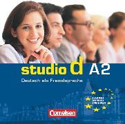 Cover-Bild zu Studio d, Deutsch als Fremdsprache, Grundstufe, A2: Gesamtband, Audio-CDs