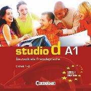 Cover-Bild zu Studio d, Deutsch als Fremdsprache, Grundstufe, A1: Teilband 1, Audio-CD
