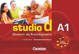 Cover-Bild zu Studio d, Deutsch als Fremdsprache, Grundstufe, A1: Gesamtband, Vokabeltaschenbuch Deutsch Spanisch