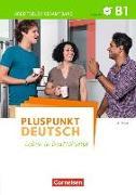 Cover-Bild zu Pluspunkt Deutsch - Leben in Deutschland, Allgemeine Ausgabe, B1: Gesamtband, Arbeitsbuch mit Lösungsbeileger und Audio-CD von Jin, Friederike
