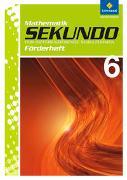 Cover-Bild zu Sekundo 6. Fördermaterial. Mathematik. Differenzierende Schulformen