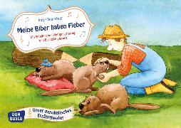 Cover-Bild zu Meine Biber haben Fieber. Kamishibai Bildkartenset von Hering, Wolfgang