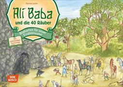 Cover-Bild zu Ali Baba und die 40 Räuber. Kamishibai Bildkartenset von Grünwald, Karina (Illustr.)
