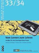 Cover-Bild zu Vom Lernen zum Lehren von Birri, Thomas