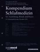 Cover-Bild zu 22. Ergänzungslieferung - Kompendium Schlafmedizin