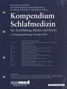 Cover-Bild zu 23. Ergänzungslieferung - Kompendium Schlafmedizin