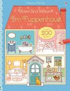 Cover-Bild zu Malen und Stickern: Im Puppenhaus von Wheatley, Abigail