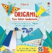Cover-Bild zu Origami - Tiere falten kinderleicht von Wheatley, Abigail