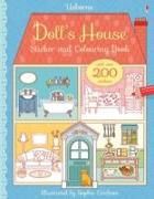 Cover-Bild zu Doll's House Sticker and Colouring Book von Wheatley, Abigail