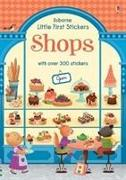 Cover-Bild zu Little First Stickers Shops von Wheatley, Abigail