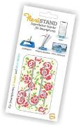 Cover-Bild zu Flexistand Roses - superflacher Aufsteller für Smartphones und Mini-Tablets, Handyhalter