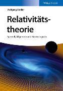 Cover-Bild zu Relativitätstheorie von Rindler, Wolfgang