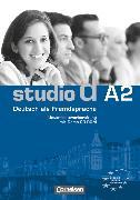 Cover-Bild zu Studio d, Deutsch als Fremdsprache, Grundstufe, A2: Gesamtband, Unterrichtsvorbereitung (Print) mit Demo-CD-ROM, Vorschläge für Unterrichtsabläufe, Tests und Kopiervorlagen von Bettermann, Christel