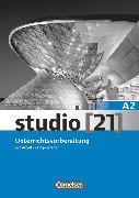 """Cover-Bild zu Studio [21], Grundstufe, A2: Gesamtband, Unterrichtsvorbereitung (Print), Mit Toolbox CD-ROM """"Der Arbeitsblattgenerator"""" von Ahn, Miran"""