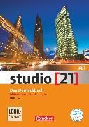 Cover-Bild zu Studio [21], Grundstufe, A1: Gesamtband, Kurs- und Übungsbuch (English-speaking learners), Inkl. E-Book von Funk, Hermann