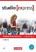 Cover-Bild zu Studio [express], A1-B1, Kursbuch mit Audios online, Inkl. E-Book von Funk, Hermann
