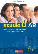 Cover-Bild zu Studio d, Deutsch als Fremdsprache, Grundstufe, A2: Teilband 1, Kurs- und Übungsbuch mit Lerner-Audio-CD, Hörtexte der Übungen von Christiany, Carla