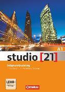 Cover-Bild zu Studio [21], Grundstufe, A1: Gesamtband, Intensivtraining mit Hörtexten und interaktiven Übungen von Funk, Hermann