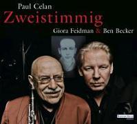 """Cover-Bild zu Celan, Paul: Giora Feidman & Ben Becker - """"Zweistimmig"""""""