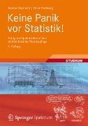 Cover-Bild zu Keine Panik vor Statistik! (eBook) von Oestreich, Markus