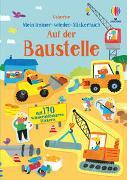 Cover-Bild zu Mein Immer-wieder-Stickerbuch: Auf der Baustelle