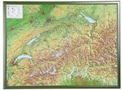 Cover-Bild zu Schweiz 1 : 500 000 mit Rahmen von Markgraf, André