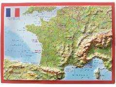 Cover-Bild zu Reliefpostkarte Frankreich von Markgraf, Andrè